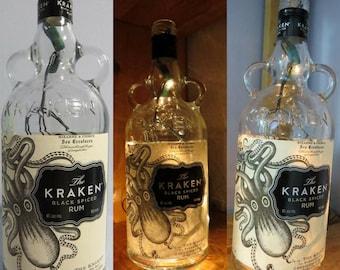 Lit-Up Liquor Bottles