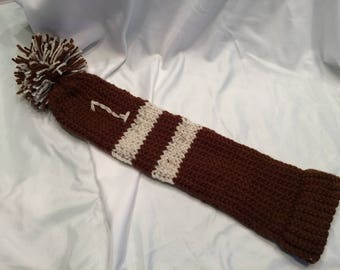 Golf Club Covers - Set of 3 - Hand Knitted