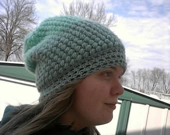 Crochet Bobble Stitch Beanie