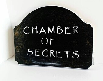 Chamber of Secrets - Harry Potter - Wall Decor - Wooden Sign