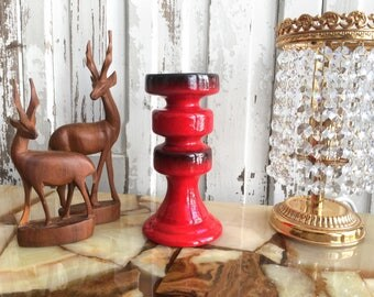 Mid century candle holders / mid century candle holder