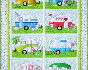 Campers Quilt Pattern