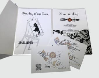 Time To Call Wedding Invitation Suite - Invitation Card # 12