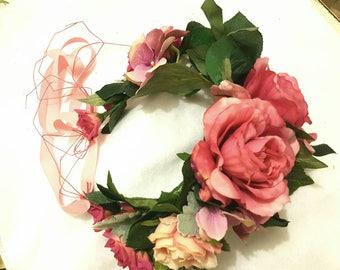LUSH garden flower crown