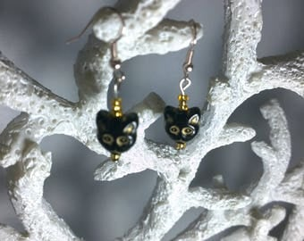 Cat Themed Earrings