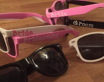Ring Security Sunglasses For Ushers, Ring Bearers or Best Man at your Wedding