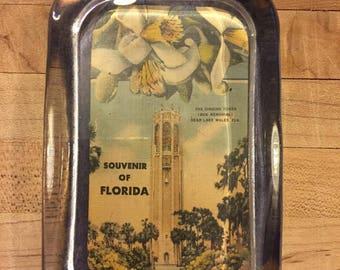 On Sale Paperweight, Elegant, Gift, Vintage, Souvenir of Florida, The Singing Tower, Lake Wales, FLA