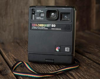 Kodak Colorburst 50 Instant Film Vintage