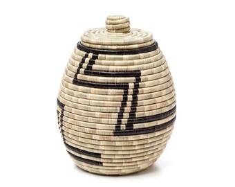 Zig Zag African basket