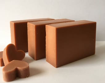 Unscented Red  Moroccan Clay Bath Bar