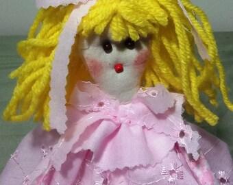 "Handmade 13"" Rag Dolls."