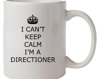 I Can't Keep Calm I'm A Directioner Mug