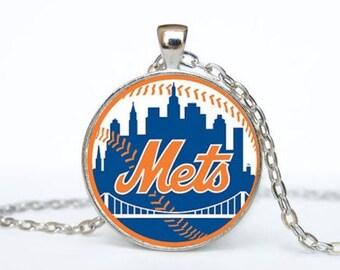 New York Mets MLB Necklace Pendant