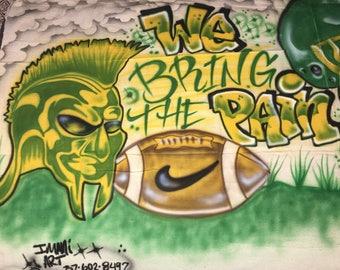 Spartans Sports Banner