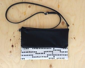Fold over purse