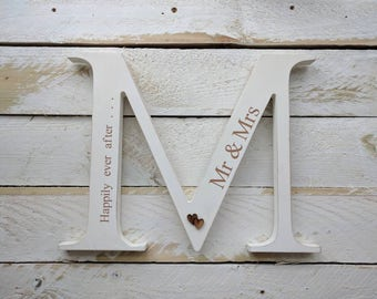 Personalised Mr & Mrs Wedding Sign