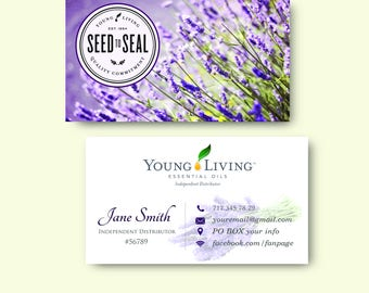 Young living cards