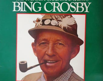 Bing Crosby Vintage Vinyl LP, The Greatest Christmas Shows, Radio Broadcast of 1949, 1951