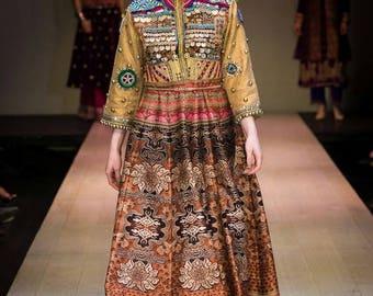 Afghan Couture vintage jacket