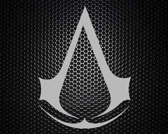 Assassins Creed vinyl decal