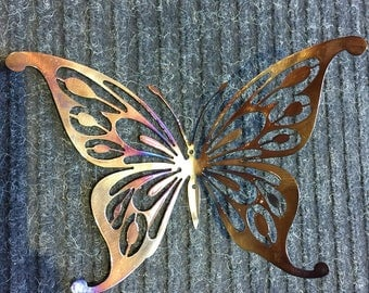 Colorful Metal Butterfly