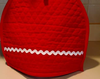 Red Quilted Tea Cozy