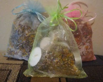 Spiritual Healing Bath Bags for Pregnant Mom and Baby