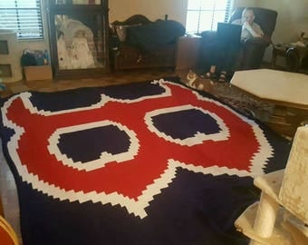Boston Red Sox Quilt
