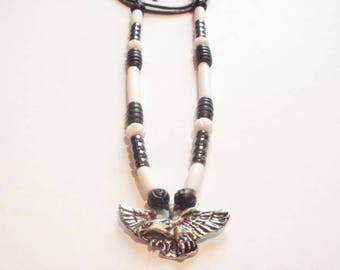 Native American necklace Eagle