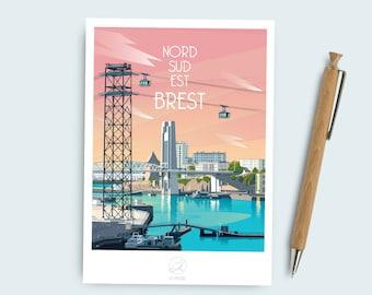 Brest postcard