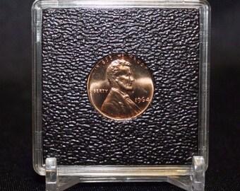 Penny 2x2 Coin Snaplock Holder Capsule 19mm Lighthouse Quadrum Intercept Case Frame Snap 1/10 oz Silver Panda Gold 5 Peso & Display Stand