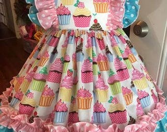 Ruffle cupcake dress