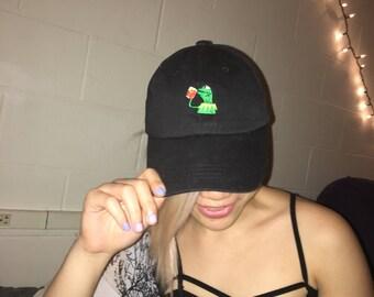 Adjustable Kermit Meme Hat