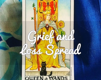 Grief and Loss Tarot Reading