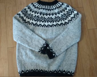 Icelandic sweater, létt lopi