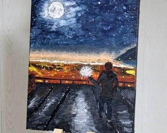 magic moonlit night