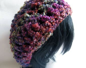 Cosmic Candy: Phoenix - A Sparkly, starry, galaxy-inspired beret