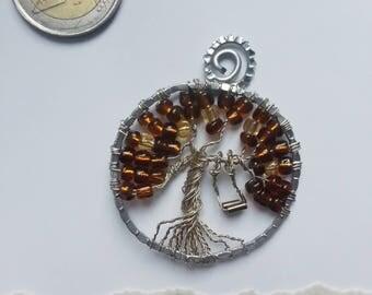 Tree of Life - pendant, Drzewo Życia - wisior AMBER