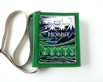 The Hobbit Leather Book Bag Tolkien Book Purse
