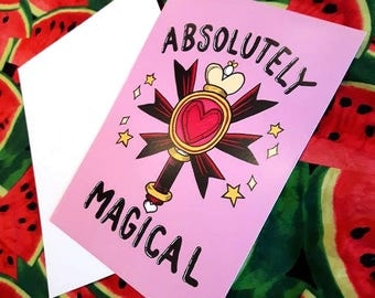 Absolutely Magical - A5 Art Print