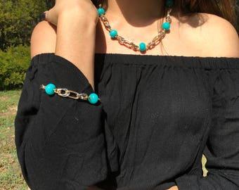 Turquoise Charm Set
