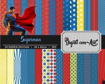 Superman Digital Paper