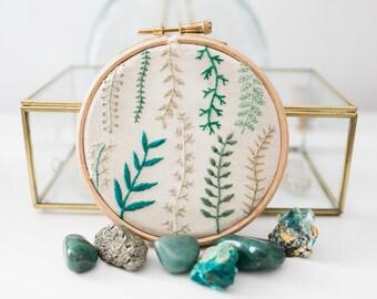 Botanical Handmade Embroidery