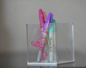 Pen or Makeup Personalized Holder