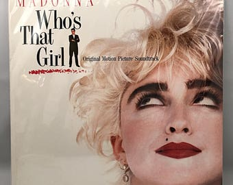 Madonna - Who's That Girl Vinyl LP Record records Soundtrack