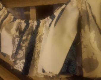 Aquarius Fabric Rag Tie Banner/Garland