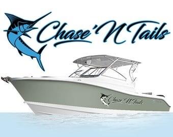 Kayak Custom Boat Name Decal Custom Made Kayak Decal Your - Boat stickers