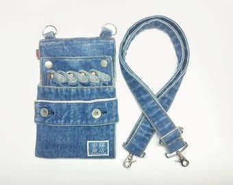 Denim sizing case blue (washed)