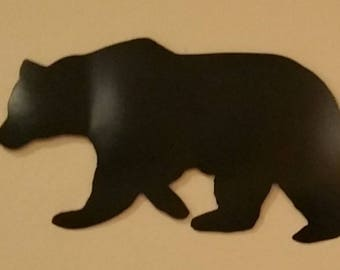 Bear Wall Art metal bear wall art | etsy