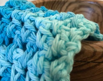 Crochet washcloth-small